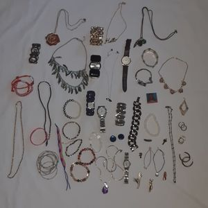 46 Pieces of Vintage Jewelry